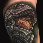 Tattoo-Books - Halo Master Chief Tattoo - 129001